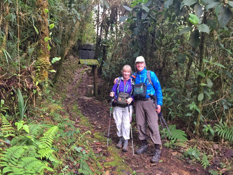 antpitta | picture of Brian Keating and wife Dee