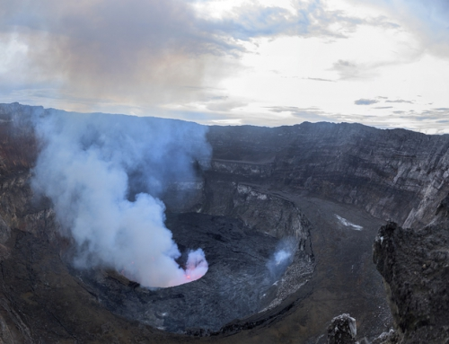 Brian Keating on CBC Homestretch: Mount Nyiragongo in Democratic Republic of the Congo