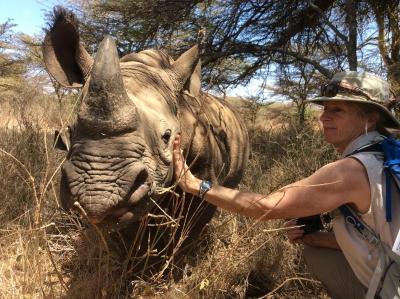 rhinoceros and Dee Keating