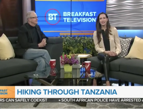 Brian Keating on City TV: Hiking Through Tanzania