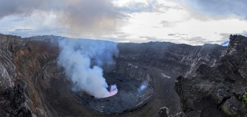 Mount Nyiragongo 1